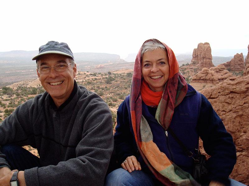 Mike Vargas and Nancy in Moab, Utah, 2009 | photo © Kristen Greco