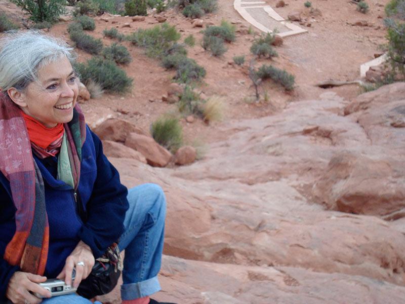 Nancy in Moab, Utah, 2009 | photo © Kristen Greco