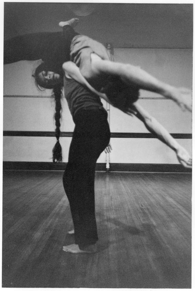 Nancy Stark Smith and Andrew Harwood, Northampton, MA, 1985. photo © Bill Arnold